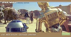 #21 Ext. Mos Eisley - Outside Cantina
